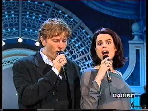 Ron e Tosca - Vorrei Incontrarti Fra Cent'Anni - Mille Lire Al Mese su Raiuno 1996
