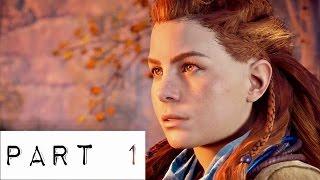 horizon zero dawn gameplay walkthrough part 1   junk bin game review   ps4 pro xbox one hd play hzd
