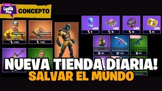NEW DAILY STORE TO SAVE THE WORLD! (CONCEPT) FORTNITE SAVE THE WORLD