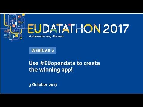 EU Datathon 2017 - Webinar 2 (EUR-Lex, Transparency Register, ...)