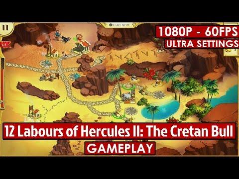 12 Labours of Hercules II: The Cretan Bull gameplay HD - Time Management - [1080p - 60fps]