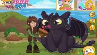 How to Train Your Dragon Surprise for Toothless / Как приручить дракона Сюрприз обед для Беззубика