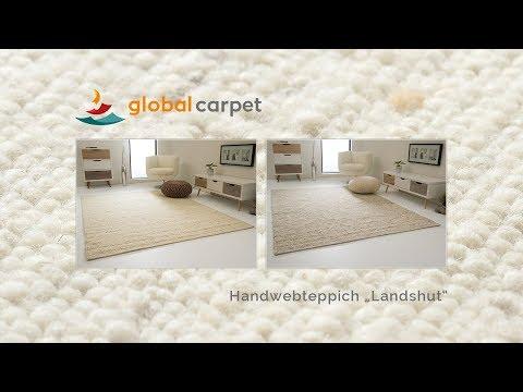 "global-carpet-präsentiert-den-handweb-teppich-""landshut"""