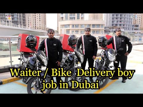 Waiter / Delivery boy job in Dubai Interview on 6/03/2019