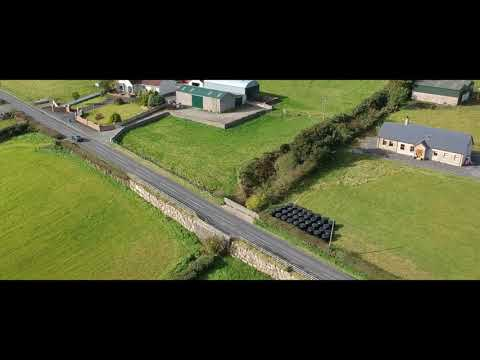 DJI Park testing in Ireland | Flying Drone over the Irish Fields | County Down