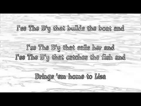 Great Big Sea - I'se The B'y (Official Lyrics)