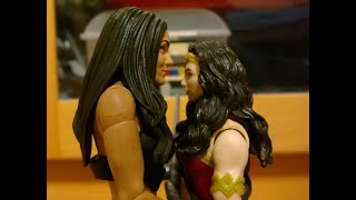 Nikki Bella vs wonder woman: struggle for the sword