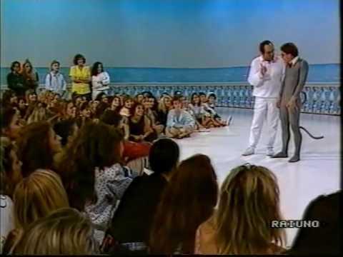 Ricordando Gianni Boncompagni nello spot di Domenica in 1990 91