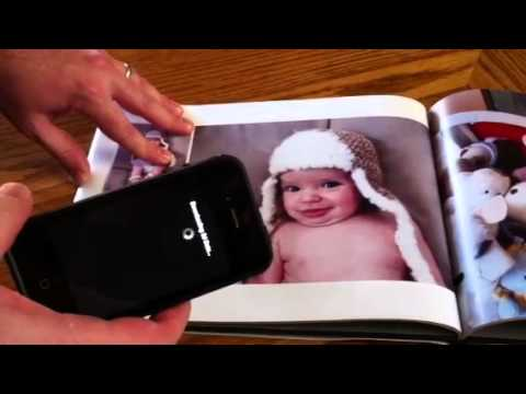 Augmented Reality Photo Book by JumpSeat