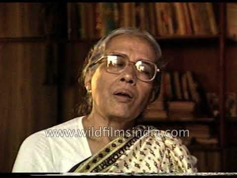 Surama Ghatak speaks about husband Ritwik Ghatak, famous Bengali filmmaker