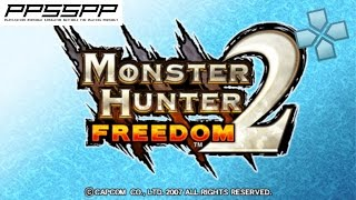 Monster Hunter Freedom 2 - PSP Gameplay (PPSSPP) 1080p