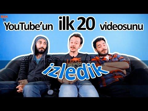 Bak - YouTube'un İlk 20 Videosu