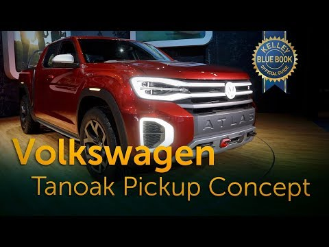 Volkswagen Atlas Tanoak Pickup Concept - 2018 New York Auto Show