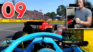 F1 2020 My Team Career - Part 9 - LOST THE FRONT WING!