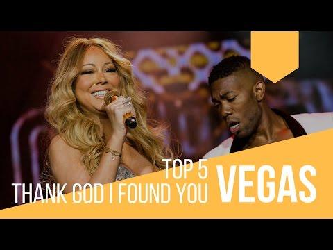 TOP 5 Thank God I Found You Performances [VEGAS EDITION | Mariah Carey]