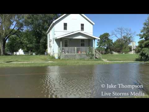 9/26/16 Cedar Rapids, Iowa Flooding