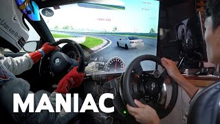 시뮬레이션과 실제 주행 M3 비교 시승기 (그란투리스모 & 영암 서킷) │ MANIAC by ONE HAND MAGAZINE