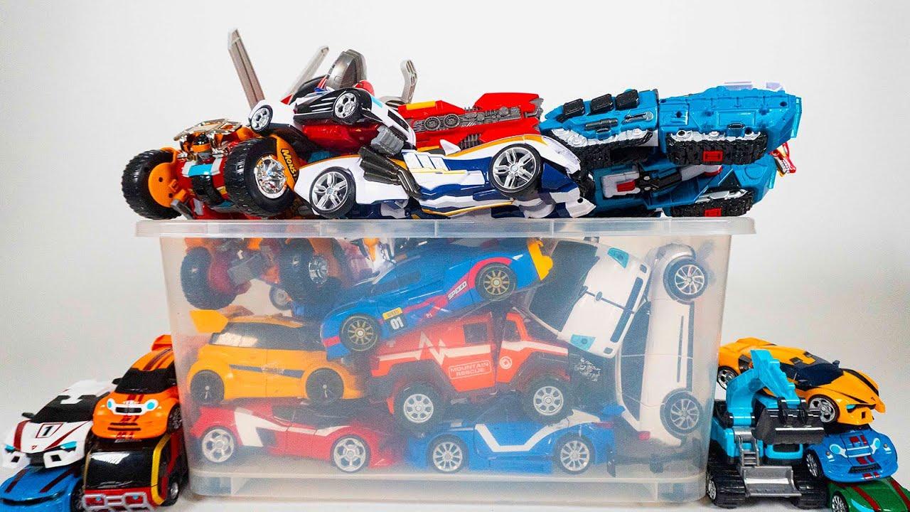Tobot V Robot Car transformation 또봇 시즌 1 로봇 자동차 변신