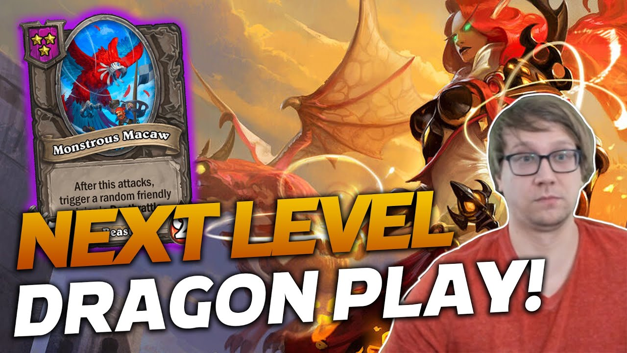We Have Some Next Level Dragon Plays! | Hearthstone Battlegrounds | Savjz
