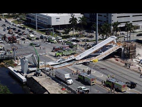 Florida pedestrian bridge collapses