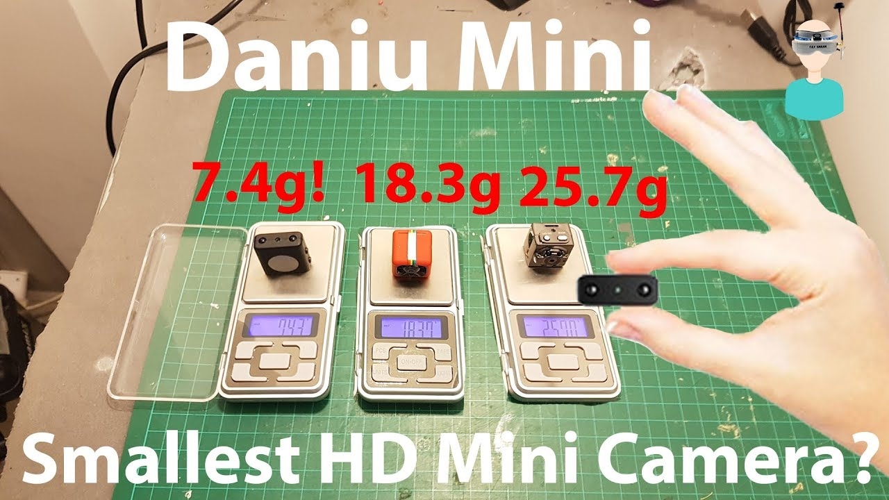 DANIU Mini - World\'s Smallest HD camera - Does It Suck? - YouTube