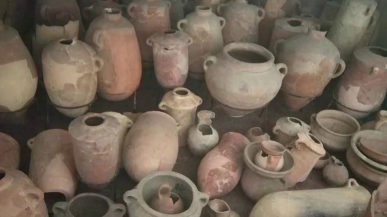הכדים שנשכחו חשפו מפעל לצבע ארגמן בחיפה