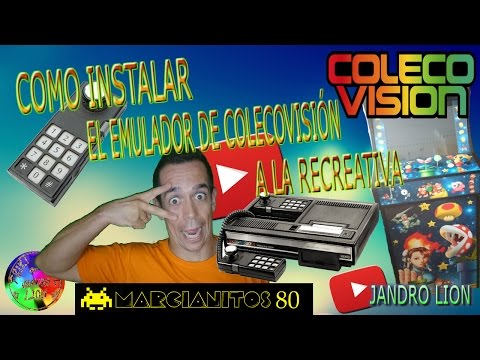 "How to install the ""Colecovision CBS"" emulator to the recreational. #frikiretrogamer #coleco"