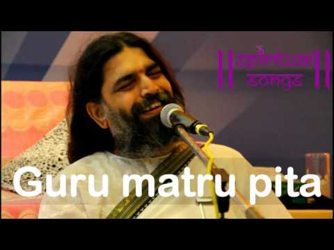 Guru maat pita Art of living bhajan by rishi nitya pragya