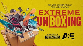 Extreme Unboxing A&E New Upcoming TV Series Return Pallets Treasure Hunting