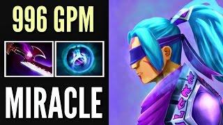 Miracle- Anti-Mage Mid Vs Invoker Epic Top 9k MMR EU Gameplay Dota 2