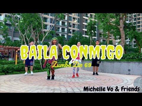 Baila Conmigo (Moomba Trap) | Zumba® ZIN 69 | Michelle Vo and Friends | ZUMBA | Dance Fitness