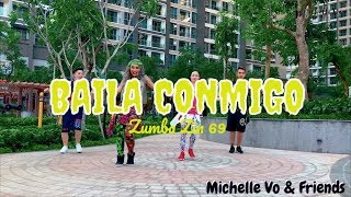 Baila Conmigo Moomba Trap Zumba ZIN 69 Michelle Vo And Friends ZUMBA Dance Fitness