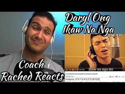 Vocal Coach Reaction + Analysis - Daryl Ong - Ikaw Na Nga