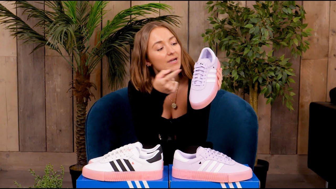 samba rose sneaker adidas