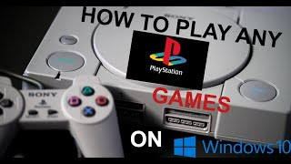 Gambar cover Playstation 1 Emulator on PC [ PSX Emulator Tutorial ] Play Any PS1 Games