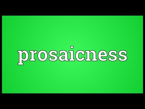 Header of prosaicness