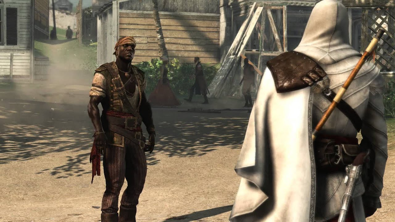 Assassin's Creed IV: Black Flag - Delirium: Adewale & Edward Kenway  Reunited