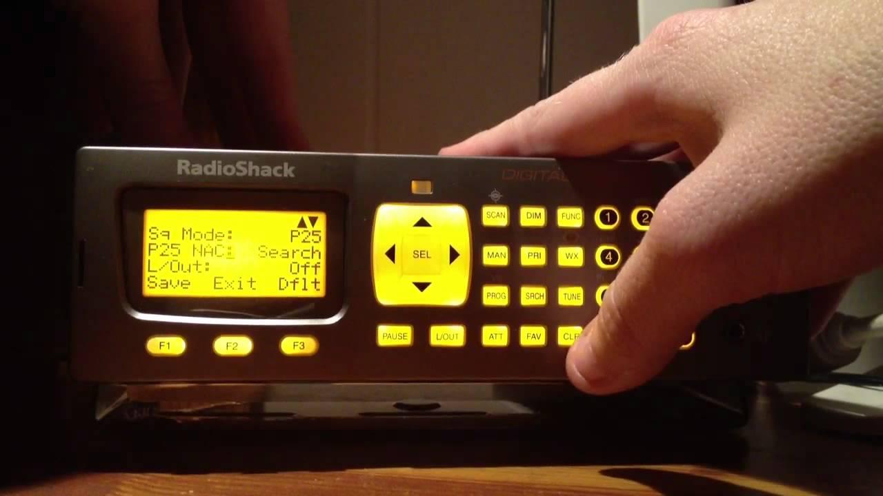 How to program a Radio Shack Pro-197 Digital Trunking Scann