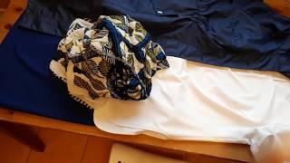 Топ и юбка на большой размер. Обзор готовых вещей.