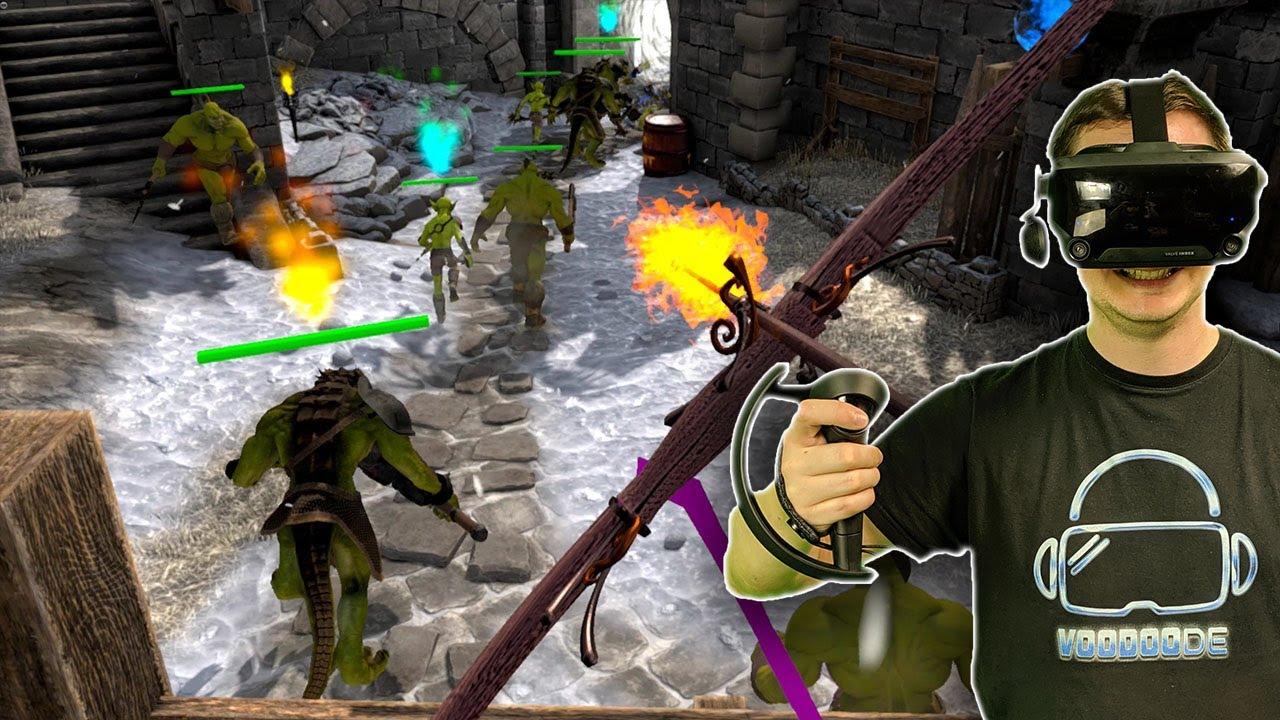 Voodoo und die fiesen Orcs - Archer VR Gameplay