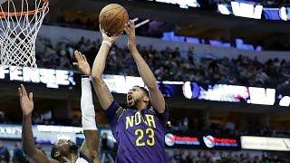 Anthony Davis Drops 39 Points on 17 Made Baskets | 02.25.17