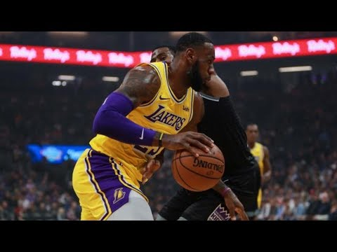 Lonzo Ball Halfcourt Lob to LeBron James! 2018-19 NBA Season