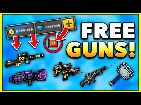 How To Get FREE GUNS In Pixel Gun 3D! (PG3D FREE Gems & Coins)