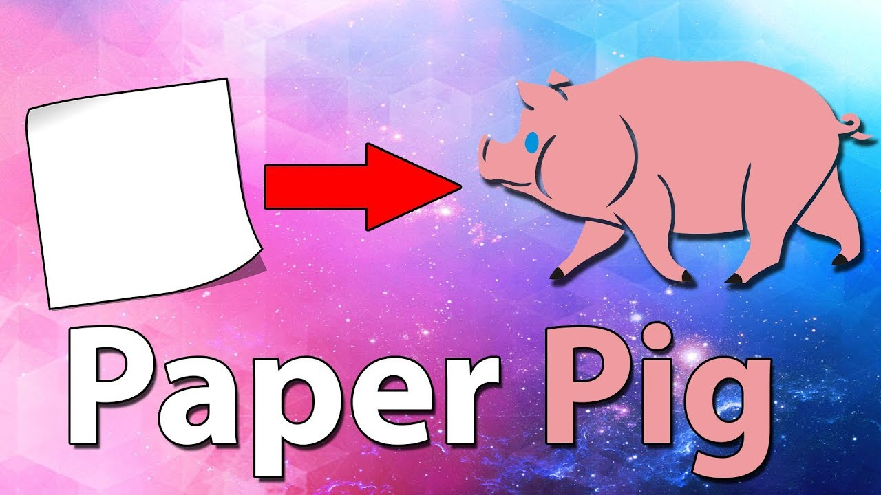 Pig Corner Bookmark DIY - How to make a corner bookmark - Pig DIYs ... | 720x1280