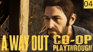 A WAY OUT - PART 4 - BONDING ON THE RUN - Co-Op Gameplay (1440p)