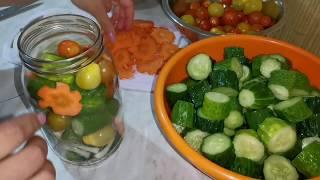 Овощное ассорти на зиму#заготовки