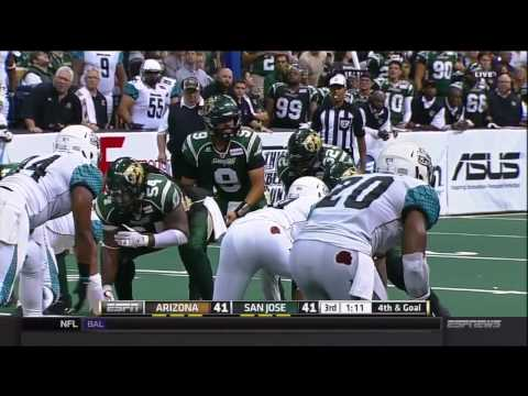 2015 National Conference Championship Arizona Rattlers at San Jose SaberCats
