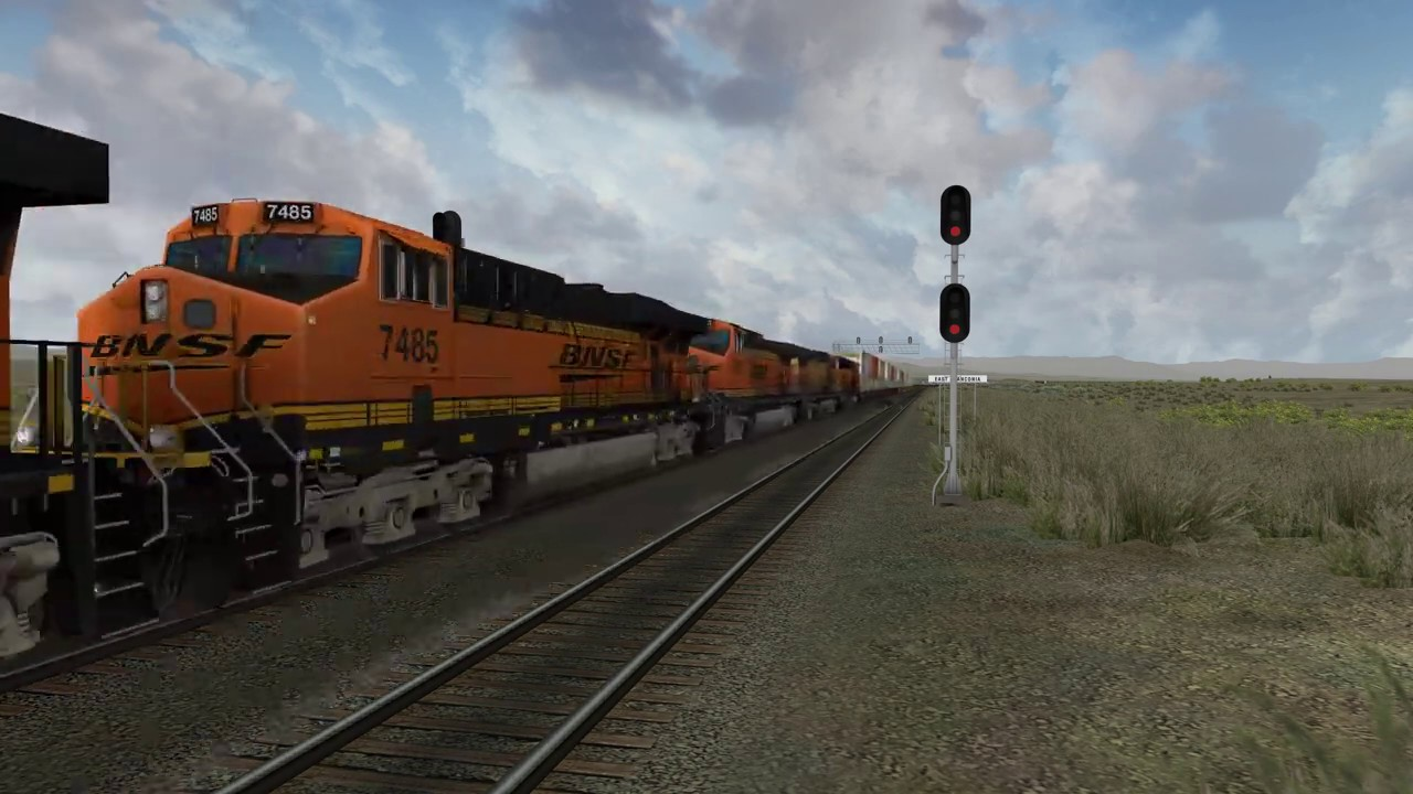 BNSF Seligman Route (for Open Rails)