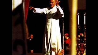 Giovanni Paolo II - Carol Wojtyla - Benedizione  e Preghiera del Papa Recita dell'Angelus a Pom