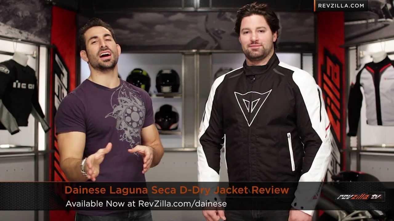 cfe63df6ea4 Dainese Laguna Seca D-Dry Jacket Review at RevZilla.com - YouTube